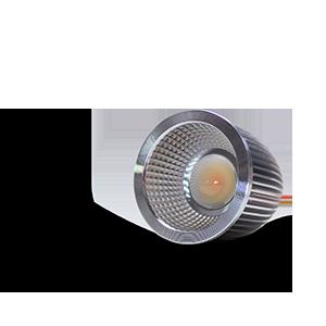 Eine Nahaufnahme des Constaled Deep Tunable White LED-Spots 31346