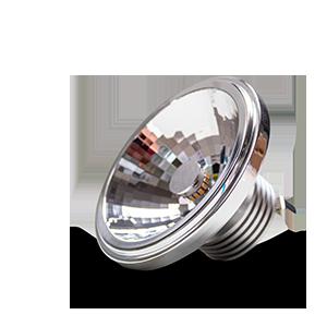 Eine Nahaufnahme des Constaled AR111 LED-Spots 30548